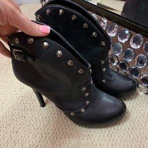 BCBGeneration stud ankle boots